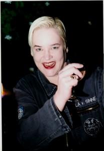 Hella von Sinnen 1998, Foto: Ulrike Anhamm