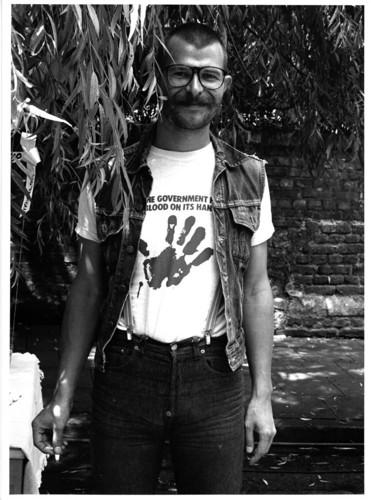 CSD 1992 Act Up Aktivist