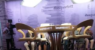 """Schnappschuss von der Aufzeichnung der """"lesenswert""""-Sendung (Foto: Jess Doenges)"""
